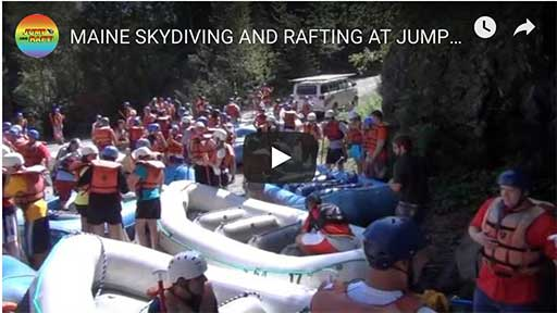 maine white water rafting video